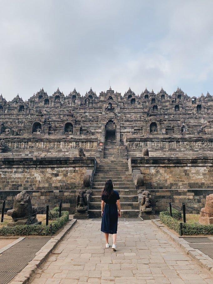 Klook in Candi Borobudur