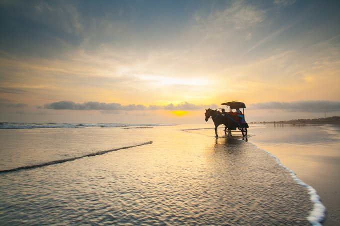 Sunset Pantai Parangtritis - Naufal Ilham S on Shutterstock