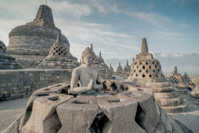 Candi Borobudur Stupa