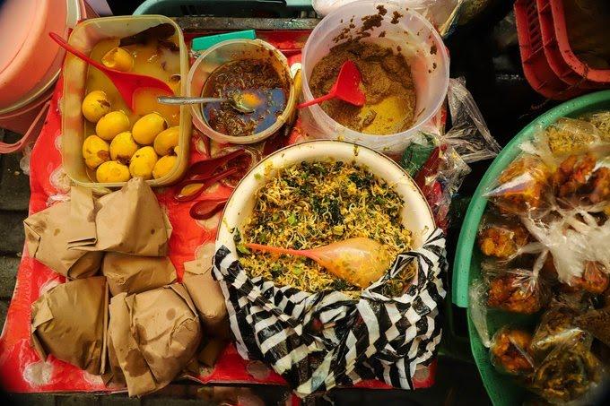 Nasi Tepeng, Makanan Khas Bali