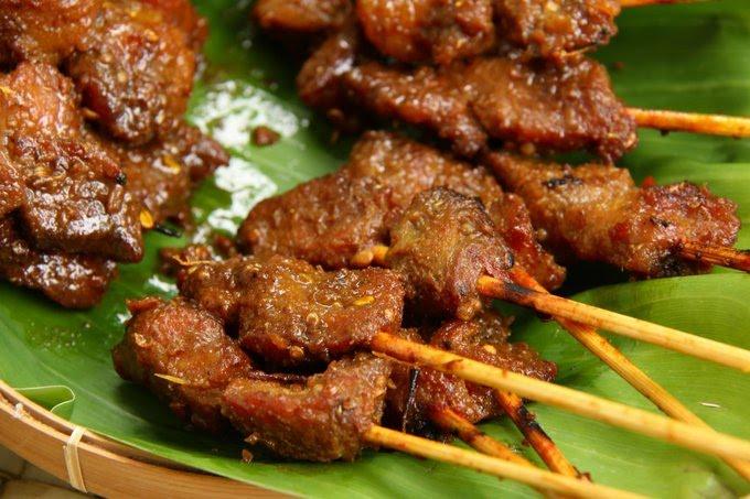 Sate Babi, Makanan Khas Bali